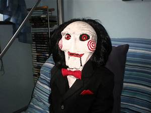 Saw Props, Billy Puppet and Jigsaw Syringe - YouTube