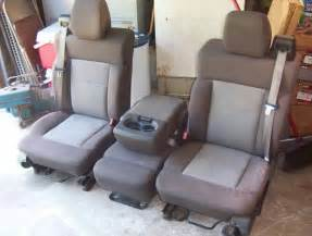 Truck Bench Seat Center Console
