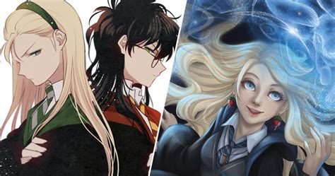 Anime Wallpaper Harry Potter by Harry Potter 23 Characters Redesigned As Anime Characters