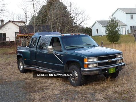 chevy  turbo diesel dually crewcab