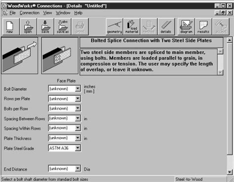 woodworks  software canadian wood council design