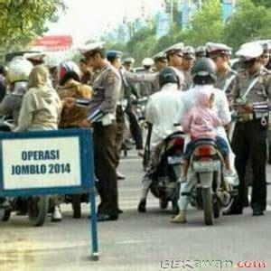 polisi mengadakan operasi jomblo dua ribu empat belas