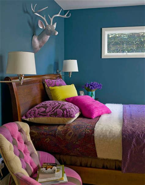 teal color schemes for bedrooms ideas for small spaces bright teal blue bedroom jewel t 19942 | 3425143293 3649ed19ce