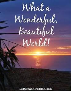 What a Wonderful, Beautiful World!