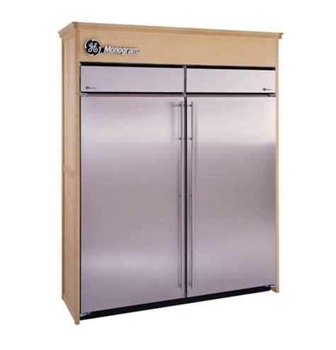 zirsndrh ge monogram  built  stainless steel  refrigerator monogram appliances