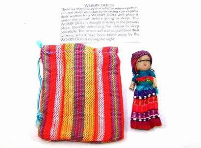 Worry Dolls Doll Guatemala Textile Mexican Single