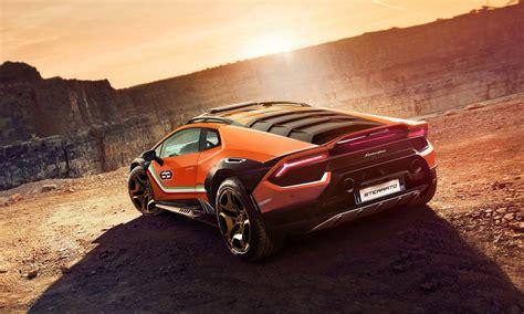 Lamborghini Huracan Sterrato concept is a Huracan off-roader