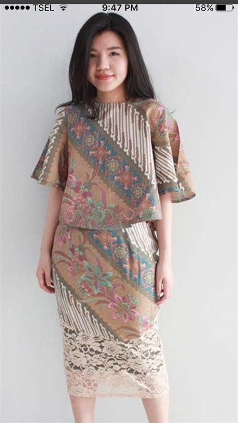 ideas  modern batik dress  pinterest