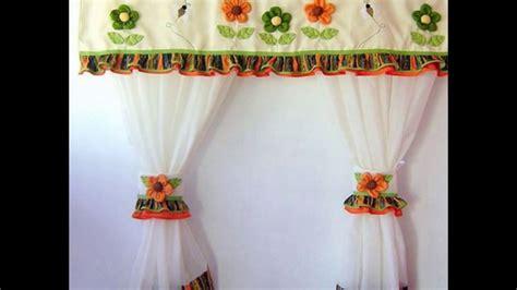 cortinas decoradas  cocinas youtube