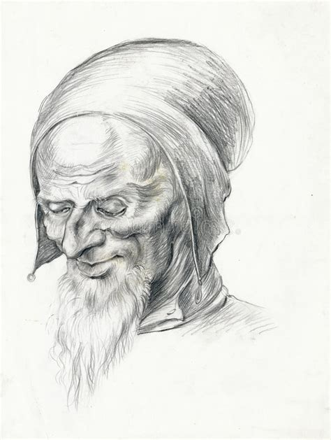Old Man 6  Drawing, Sketch Stock Photos  Image 6596903