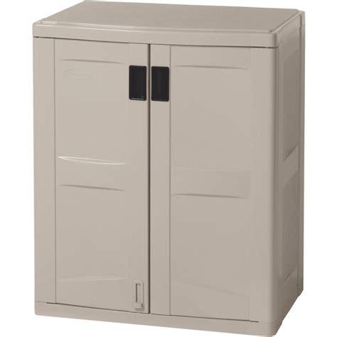 garage storage cabinets at walmart suncast base storage cabinet storage designs