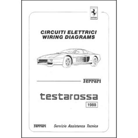 wiring diagrams pdf automobilia maranello literature librairie bookstore