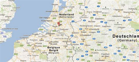 Harta Germania. Harta detaliata Germania | Zoover