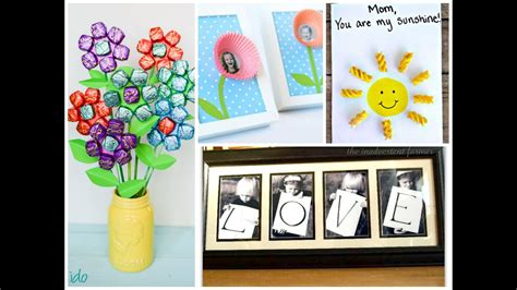 easy mothers day crafts  kids   ideas