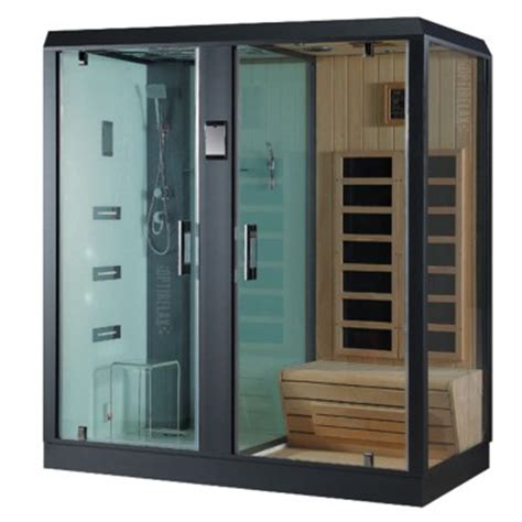 Duschkabine Mit Sauna dfdusche mit infrarotsauna kaufen