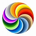 Cross Brown Swirl Clip Icon
