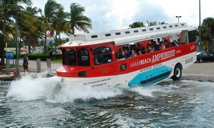 Duck Boats Boston Groupon by Duck Boat Tour Miami Pirate Duck Tours Groupon