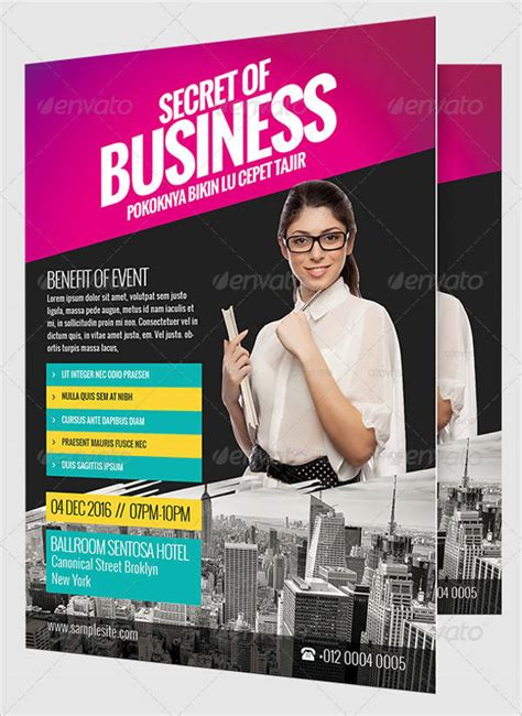 business flyer designs psd ai indesign design