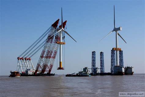 Supply offshore crane vessel barge crane floating crane