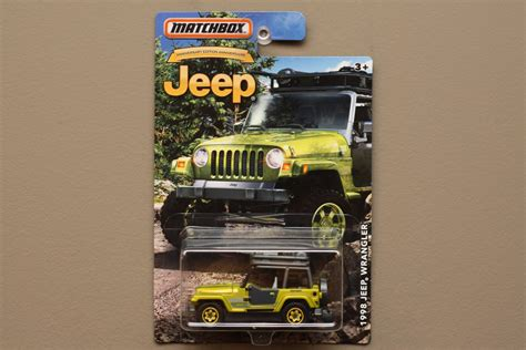 matchbox jeep 2016 matchbox 2016 jeep anniversary edition 39 98 jeep wrangler