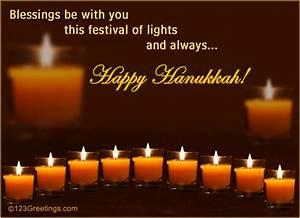 hanukkah blessings free happy hanukkah ecards greeting