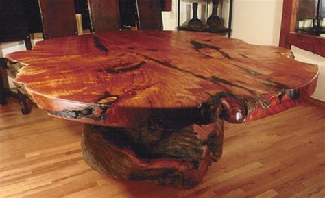 dining table tree trunk dining table base