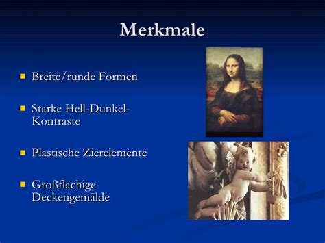 merkmale des barock barockmalerei