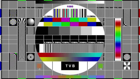 Test Pattern - tvb jade with hd test pattern