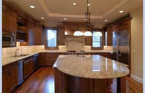 wooden cabinets kitchen light granite cabinets home remodeling ideas 1156