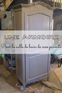 Armoire Pour Salle De Bain : une belle armoire pour la salle de bain de mes parents ~ Edinachiropracticcenter.com Idées de Décoration