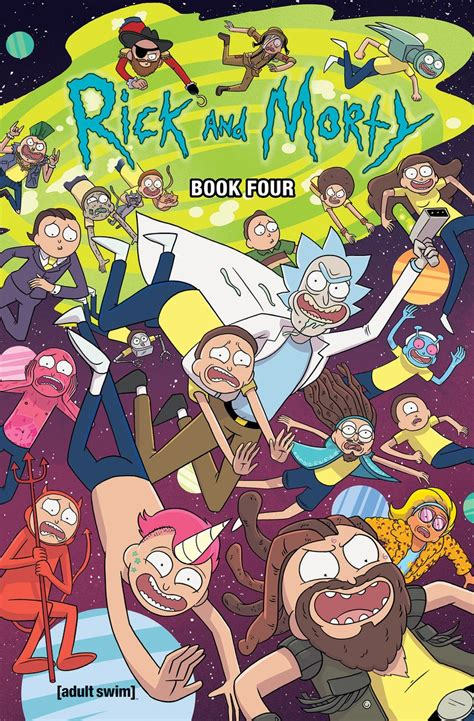 Rick And Morty Hardcover Book 4 Oni Press