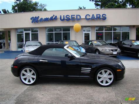 Black Chrysler Crossfire by 2005 Black Chrysler Crossfire Limited Roadster 30935872