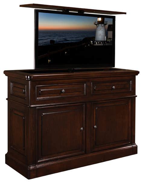 tv cabinet hidden tv lift hidden tv lift furniture cabinet us made point loma