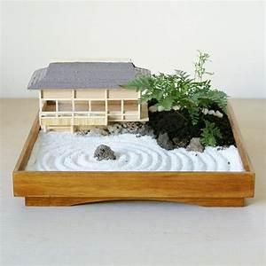Zen Garten Miniatur : japanischer minigarten miniaturgarten fairygarden fairy house miniatur zengarten zen ~ A.2002-acura-tl-radio.info Haus und Dekorationen