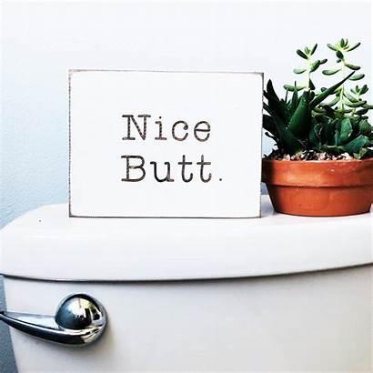 Nice Bathroom Butt Farmhouse Job Pooping Cheeks