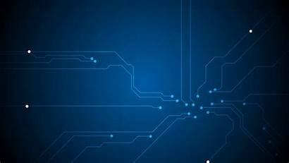Technology Background Graphic Animated Tech Circuit Board
