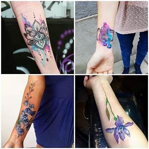 Tattoos Für Frauen Arm : 1001 ideen und inspirationen f r ein cooles unterarm tattoo tattoo ideen tattoos body art ~ Frokenaadalensverden.com Haus und Dekorationen