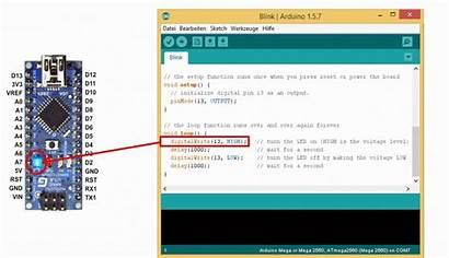 Arduino Blink Nano Example Led Datei Cartes