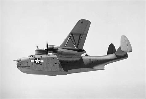 Flying Boat Us Navy by U S Navy Flying Boat Photograph By Granger
