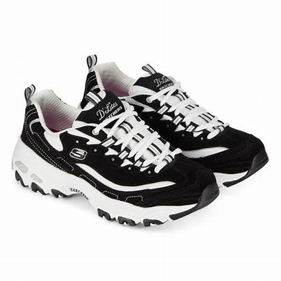 Skechers Lites Femme Courir Noir Sneakers Sneaker