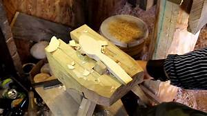 Spoon Carving Mule with Scorp/Skavare - YouTube