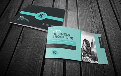 rw neo business brochure  behance