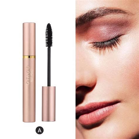 Realistic glossy front view cosmetic cream tube and opened cream jar packaging mockup. Mascara Rose Gold Tube Volume Curled Lashes Black Mascara ...