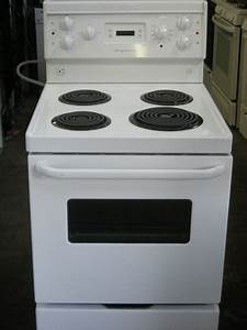 Frigidaire apartment size electric stove 30000 the for Apartment range electric