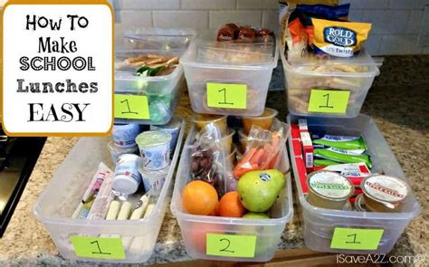How Much Do School Lunch Make how to make school lunches easy time saver