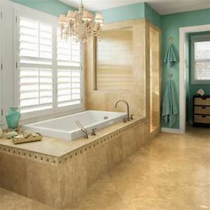 Beach themed master bathroom for the bathroom for Coastal theme for master bathroom ideas