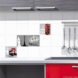Stickers Carreaux Cuisine : stickers carreaux cuisine amazing stickers carrelage ~ Preciouscoupons.com Idées de Décoration