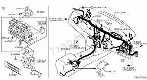 Wiring Nissan Teana Mly Make  Asia  Right Wheel