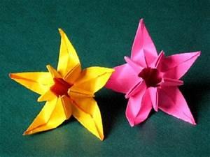 Origami Fleur Coeur D étoile : d 39 autres fleurs en origami association masi ~ Melissatoandfro.com Idées de Décoration