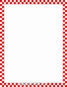 Red And White Striped Border Clipart (46+)